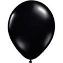 "Picture of Qualatex 5"" Round - Onyx Black (100/bag)"