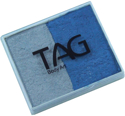 Picture of TAG Pearl Blue & Pearl Silver Split Cake 50g