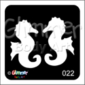Picture of Twin Seahorse BG-22 - (5pc pack)