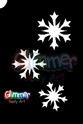 Picture of Cascading Snow Flakes Stencil (MA-35) - (5pc pack)