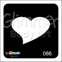 Picture of Single Heart GR-86 - (1pc)