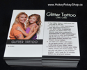 Picture of Glitter Tattoo Care Cards (200 pcs)