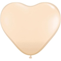 Picture of 6 Inch Heart - Blush (100/bag)