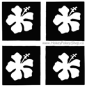 Picture of Mini Hibiscus Stencil (4 in 1)