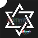 Picture of Star of David Stencil (5pc pack)