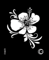 Picture of Basic - HD Stencil - Hibiscus - B12 (4pc/pk)