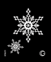 Picture of Basic - HD Stencil - Snowflakes - B20 (4pc/pk)