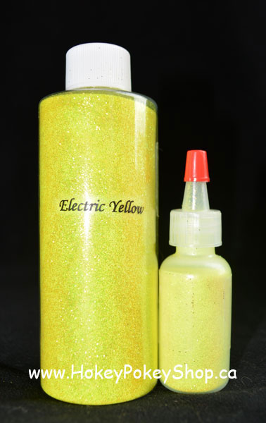 Picture of Electric UV - Yellow GLITTER (15ml)