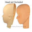 Picture of Face Skin for Mannequin Head