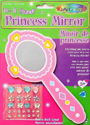 Picture of DIY Princess Mirror Krafty Kids Kit - Heart