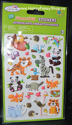 Picture of 3D Foam-Fun Stickers Animal Pals (Fox-Tiger)