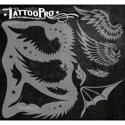 Picture of Tattoo Pro Stencil - Wings (ATPS-121)
