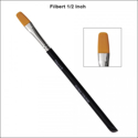 Picture of Global Body Art - Brush - Filbert 1/2 Inch