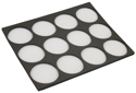 "Picture of Foam Insert for Plastic Case - 12 Round Slots (9.65""x12.2"")"