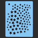 Picture of Mini Stars Stencil - SOBA-68