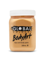 Picture of Global  - Liquid Face and Body Paint  - Metallic Gold 200ml