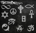 Picture of Tattoo Pro Stencil - Symbols (ATPS-136)