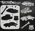 Picture of Tattoo Pro Stencil - Classic Cars (ATPS147)