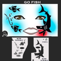 Picture of Go Fish Stencil Eyes - 20SE - (8 YRS and UP)