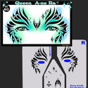 Picture of Queen Anu-Ra Stencil Eyes - 60SE (8YRS and UP)