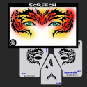 Picture of Screech Stencil Eyes - 79SE - (Child Size 4-7 YRS OLD)