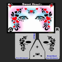 Picture of Sweet Heart Stencil Eyes - 84SE