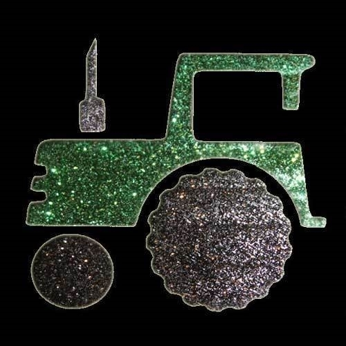 Picture of Tractor - Sparkle Stencil (1pc)