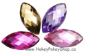 Picture of Pointed Eye Gems - Princess Set - 7x15mm (15 pc) (AG-PE3)