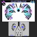 Picture of Flutter Fly Stencil Eyes - 19SE - (8 YRS and UP)