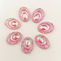 Picture of Big Peacock Gems - Light Pink - 13x18mm (7 pc.) (SG-BP6)