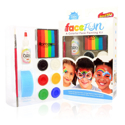 Picture of Silly Farm - Face Fun Painting Kit - Rainbow