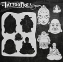 Picture of Tattoo Pro Stencil - Buddhas (ATPS-152)