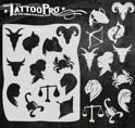 Picture of Tattoo Pro Stencil - Zodiac Signs (ATPS-154)