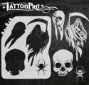 Picture of Tattoo Pro Stencil - Grim Reaper (ATPS-159)