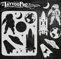 Picture of Tattoo Pro Stencil - Space (ATPS-160)