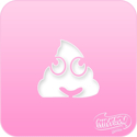 Picture of Pink Power Face Painting Stencil (1136) - Emoji Poop