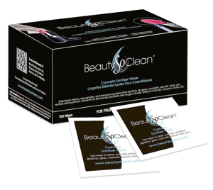 Picture of Beauty So Clean Cosmetic Sanitizing Wipes (100/box)