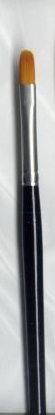 Picture of La Corneille Golden Taklon Filbert Brush 7500 - #4