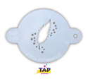 Picture of TAP 010 Face Painting Stencil - Feather