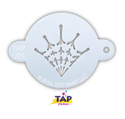 Picture of TAP 024 Face Painting Stencil - Spider Web