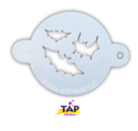 Picture of TAP 026 Face Painting Stencil - Bats