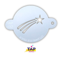 Picture of TAP 032 Face Painting Stencil - Shooting Star