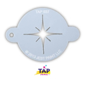 Picture of TAP 037 Face Painting Stencil - Christmas Star