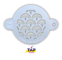 Picture of TAP 060 Face Painting Stencil - Mermaid Scales