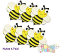 Picture of Krafty Kids Kit: DIY Foam Pal Kits Make 6 Bee's Knees (CK174-A)