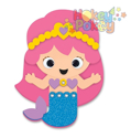 Picture of Krafty Kids Kit: DIY Foam Friends Craft Kit - Mermaid (CK192F)