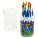 Picture of Synthetic Brush Set with Storage Tub - 12pk