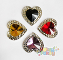 Picture of Double Heart Gems - Spooky Assortment - 16mm (7 pc.) (AG-DH3)