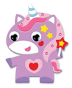 Picture of Krafty Kids Kit: DIY Foam Friends Craft Kit - Purple Unicorn (CK192-C)