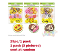 Picture of Foam Emoticon Glitter Stickers - Random Emoji Set (KC346)
